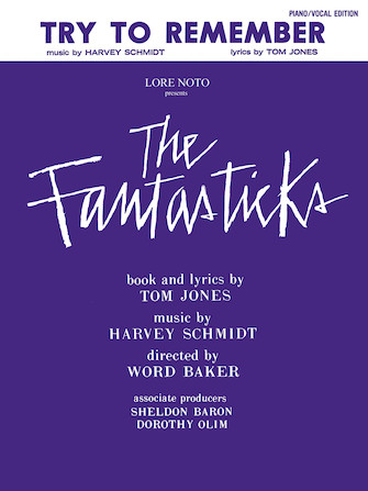 Product Cover for Try To Remember ( From 'The Fantasticks')