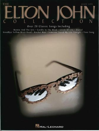 Product Cover for The Elton John Piano Solo Collection