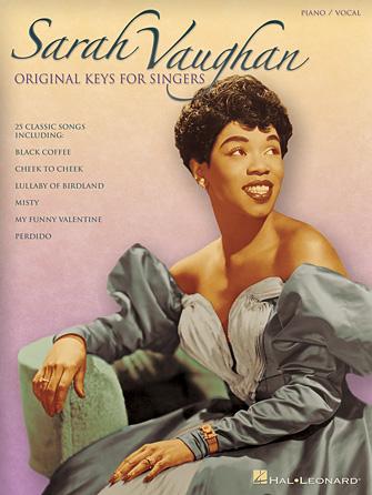 Product Cover for Sarah Vaughan – Original Keys for Singers