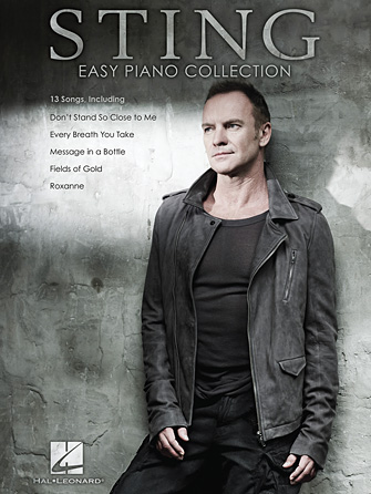Product Cover for Sting – Easy Piano Collection