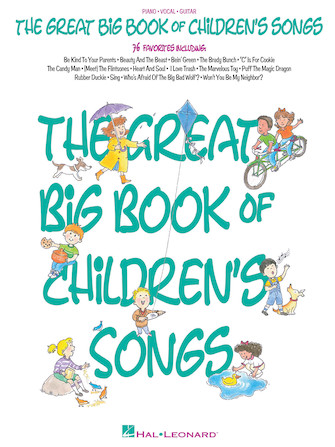 Product Cover for The Great Big Book of Children's Songs