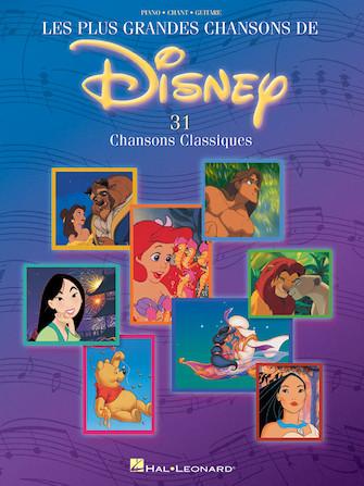 Product Cover for Les Plus Grandes Chansons de Disney – 31 Chansons Classiques
