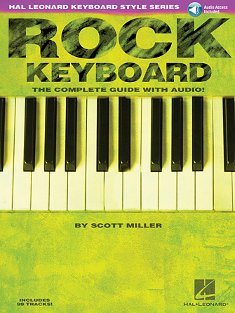 Product Cover for Rock Keyboard – The Complete Guide with Online Audio!