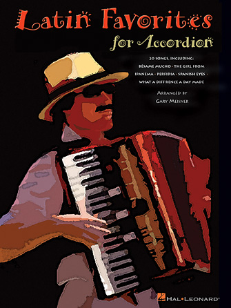 Product Cover for Latin Favorites for Accordion
