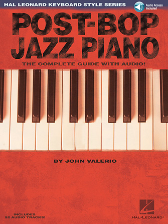 Product Cover for Post-Bop Jazz Piano – The Complete Guide with Audio!