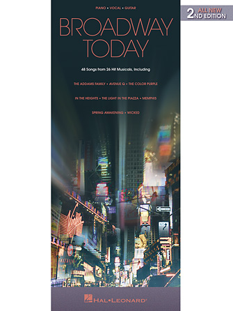 Product Cover for Broadway Today – All-New 2nd Edition