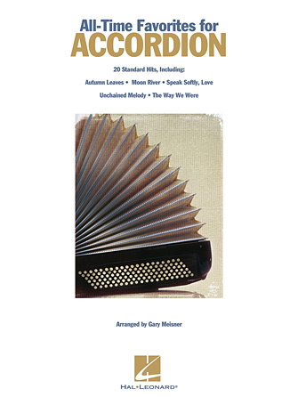 Product Cover for All-Time Favorites for Accordion