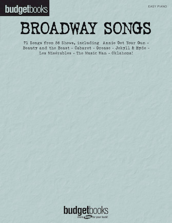 Product Cover for Broadway Songs