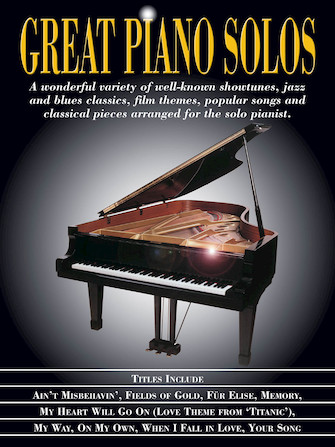 Product Cover for Great Piano Solos