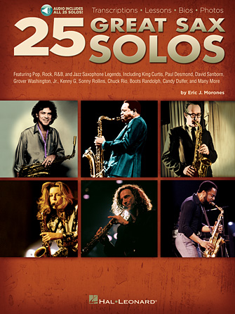 Product Cover for 25 Great Sax Solos