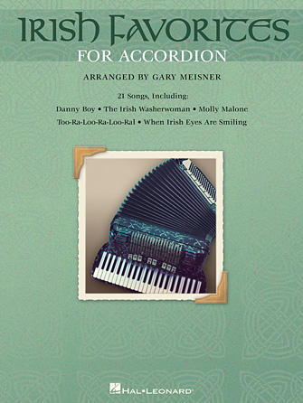 Product Cover for Irish Favorites for Accordion