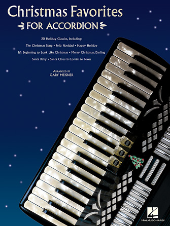Product Cover for Christmas Favorites for Accordion