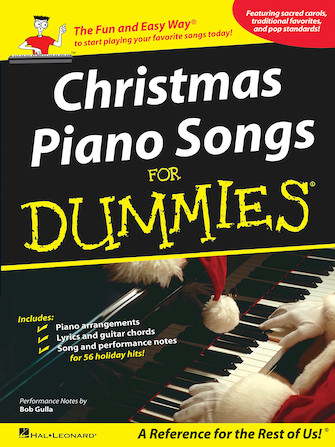 Product Cover for Christmas Piano Songs for Dummies