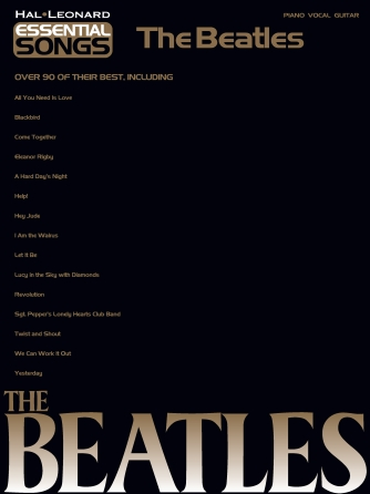 Product Cover for Essential Songs – The Beatles