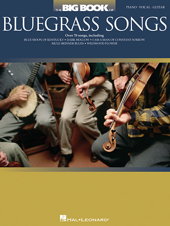 Product Cover for The Big Book of Bluegrass Songs