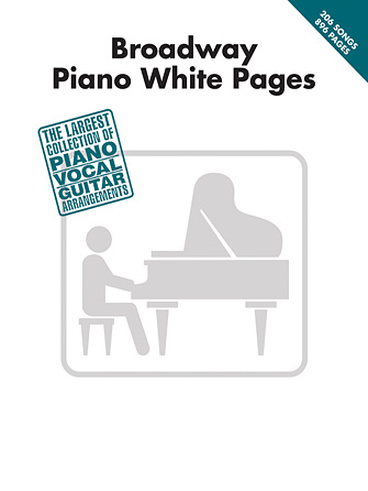Product Cover for Broadway Piano White Pages