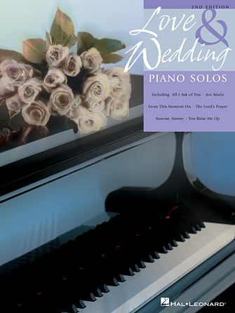 Product Cover for Love and Wedding Piano Solos – 2nd Edition