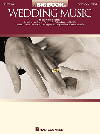 Product Cover for The Big Book of Wedding Music – 2nd Edition