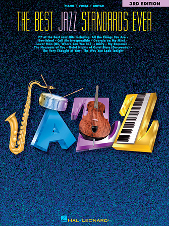 Product Cover for The Best Jazz Standards Ever – 3rd Edition