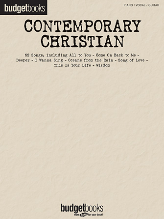 Product Cover for Contemporary Christian