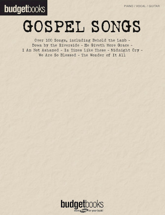 Product Cover for Gospel Songs
