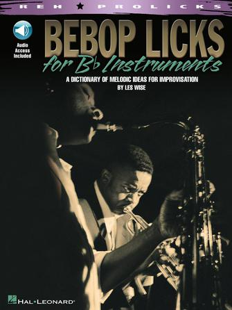 Product Cover for Bebop Licks for B-Flat Instruments