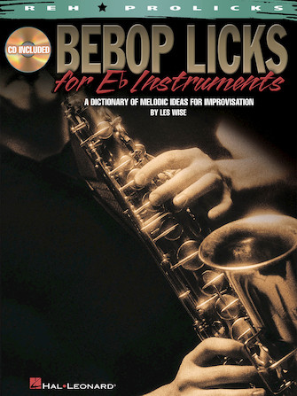 Product Cover for Bebop Licks for E-Flat Instruments