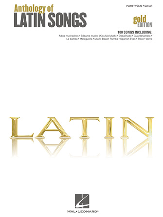 Product Cover for Anthology of Latin Songs – Gold Edition