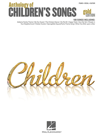 Product Cover for Anthology of Children's Songs – Gold Edition