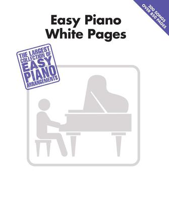 Product Cover for Easy Piano White Pages