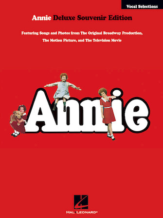 Product Cover for Annie Vocal Selections – Deluxe Souvenir Edition