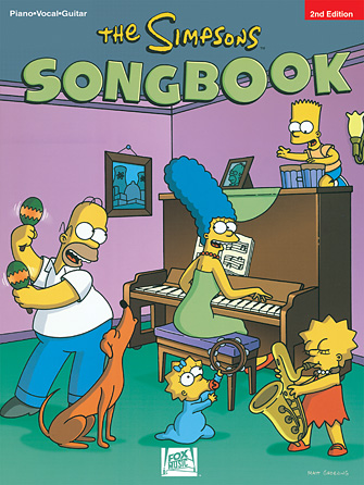 Product Cover for The Simpsons Songbook – 2nd Edition