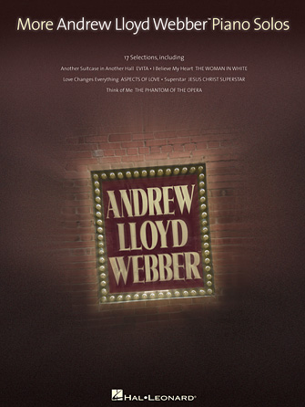Product Cover for More Andrew Lloyd Webber Piano Solos