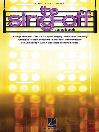 Product Cover for The Sing-Off Songbook