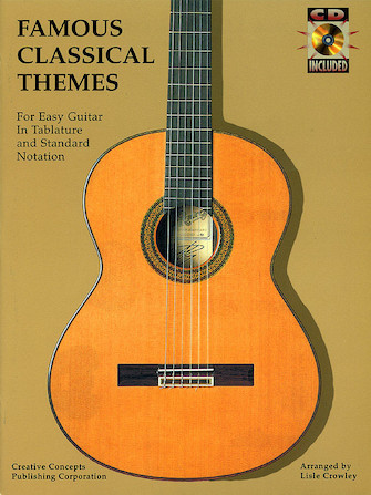 Product Cover for Famous Classical Themes for Easy Guitar