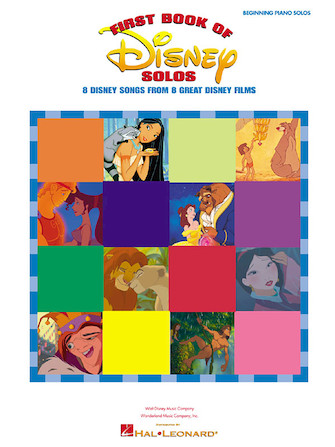 Product Cover for First Book of Disney Solos