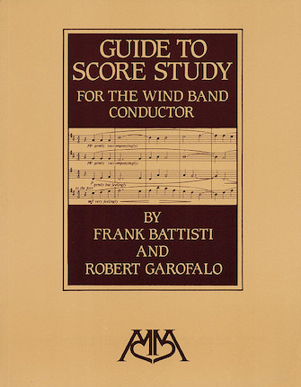 Product Cover for Guide to Score Study for the Wind Band Conductor