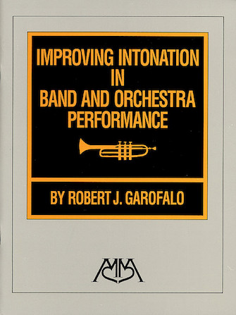 Product Cover for Improving Intonation in Band and Orchestra Performance