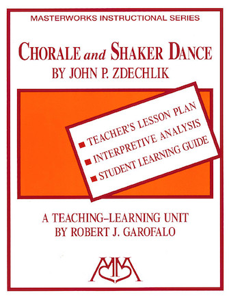 Product Cover for Chorale and Shaker Dance