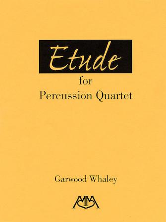 Etude for Percussion Quartet