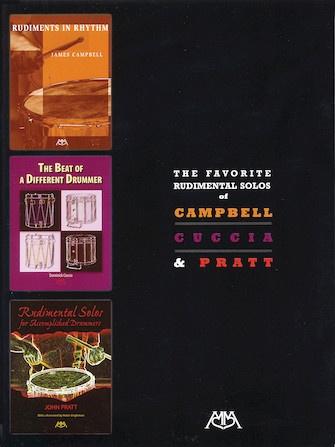 Product Cover for The Favorite Rudimental Solos of Campbell, Cuccia and Pratt