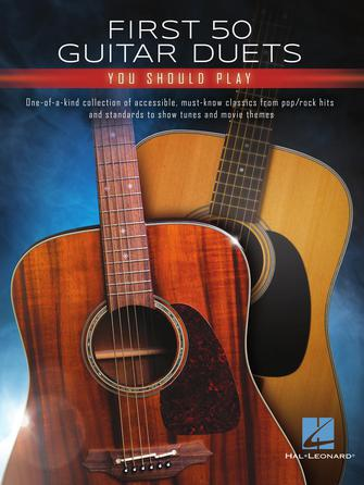 Product Cover for First 50 Guitar Duets You Should Play