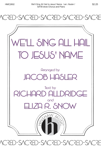 Product Cover for We'll Sing All Hail to Jesus