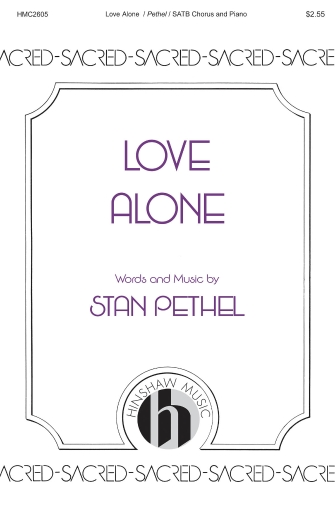 Product Cover for Love Alone