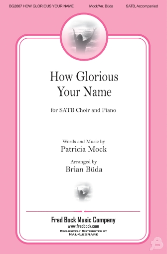Product Cover for How Glorious Your Name