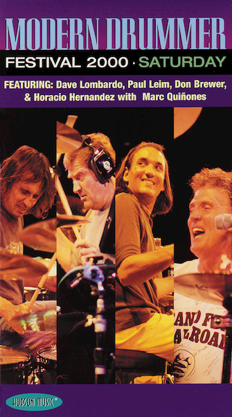Product Cover for Modern Drummer Festival 2000 – Saturday