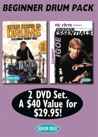 Product Cover for Tommy Igoe – Beginner Drum DVD Pack
