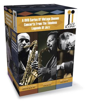 Jazz Icons 3 Boxed Set