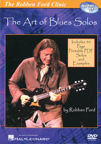 Product Cover for Robben Ford – The Art of Blues Solos