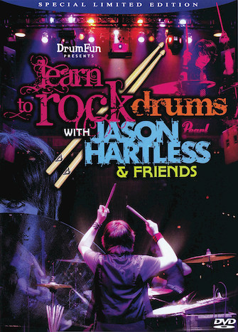 Product Cover for Learn to Rock Drums with Jason Hartless & Friends